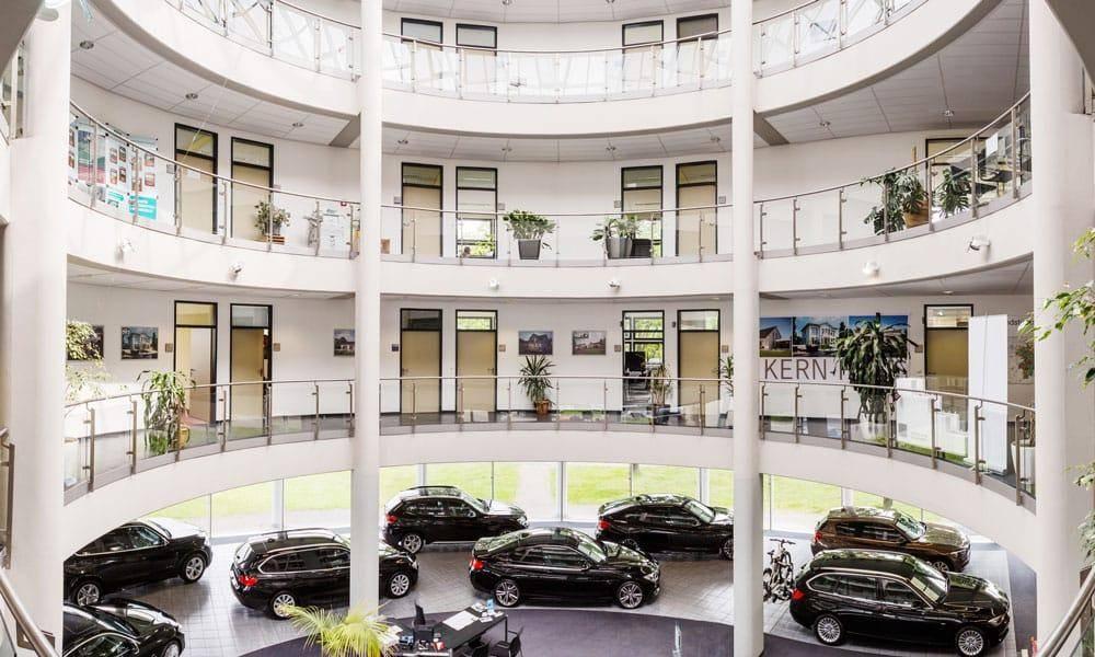Büroflächen in der Rotunde